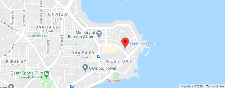 Qatar Ministry of Culture and Sports location on google Map